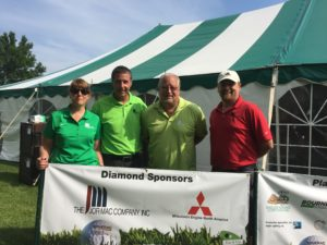 Group of Jor-Mac employees at Golf Outing
