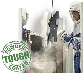Jor-Mac powder coating metal fabrication